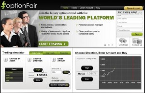 Option Fair Forex Trading Platform Review