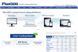 Plus500 Forex Currency Trading Platform Review